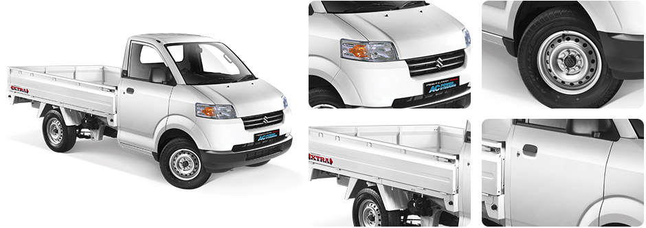 eksterior suzuki mega carry ac ps