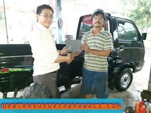 delivery suzuki pickup