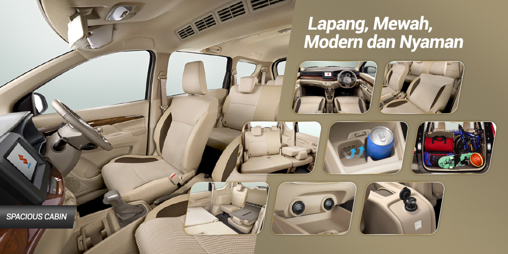 INTERIOR ALL NEW ERTIGA