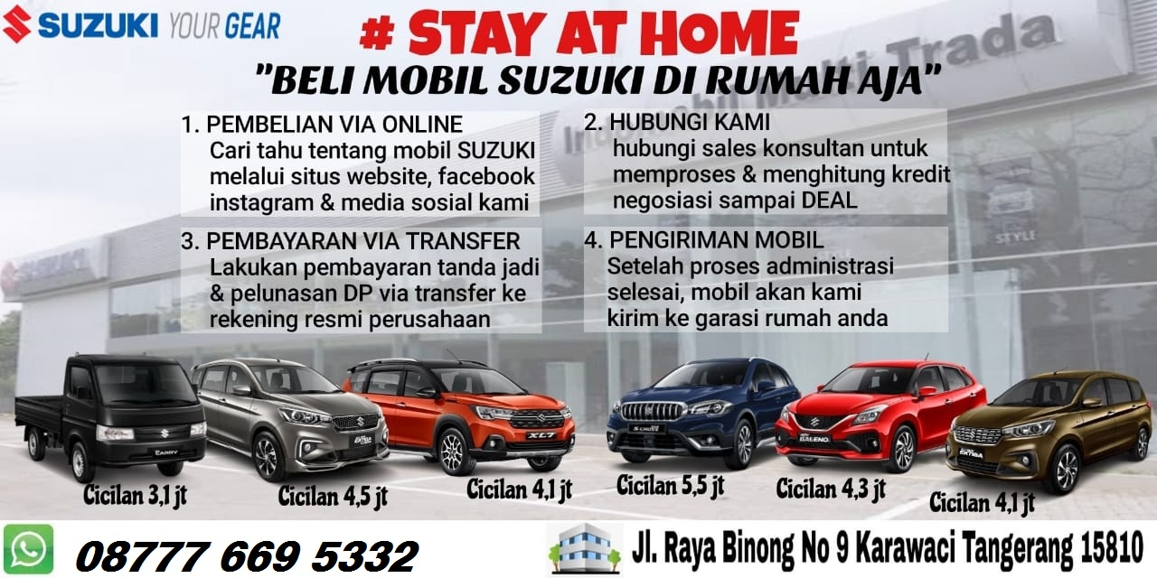 suzuki buy from home